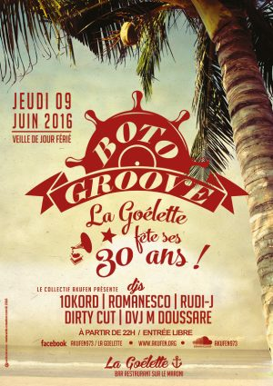 Affiche web Boto Groove